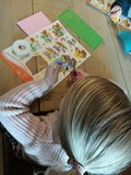 Kinderknutselpakket nr. 1 - Paaskaarten maken_