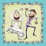 Aurelie Betje Marriage Cardmaking Clear Stamp (AUCS1014)_