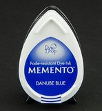 MD-600 - Memento klein - InkPad-Danube Blue_
