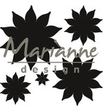 CR1431 - Marianne Design - Craftables - Succulent (pointed) - 62x65mm_
