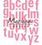 COL1449 - Marianne Design - Collectables - Alfabet XXL - 131x169mm_