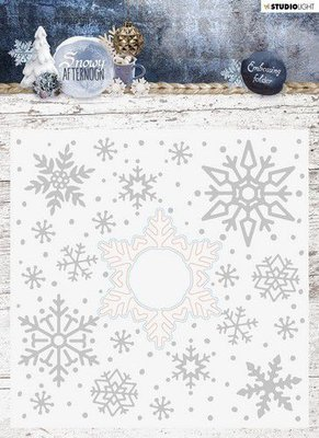 Studio Light Embossing Folder With Die Cut, Snowy Afternoon nr.02 EMBSA02