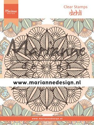 Marianne D Clear Stamps Mandala Delhi CS1035 120x160 mm