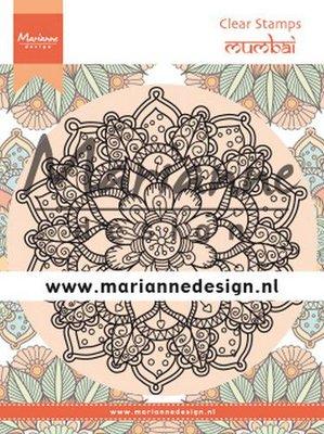 Marianne D Clear Stamps Mandala Mumbai CS1034 120x160 mm