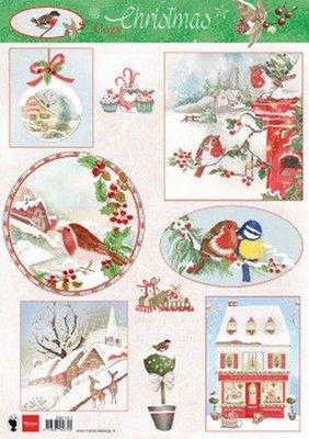 Marianne D Knipvellen Cozy Christmas EWK1271 A4