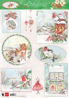 Marianne D Knipvellen Cozy Christmas EWK1270 A4