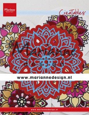 Marianne D Creatable Mandala LR0614 140x180 mm