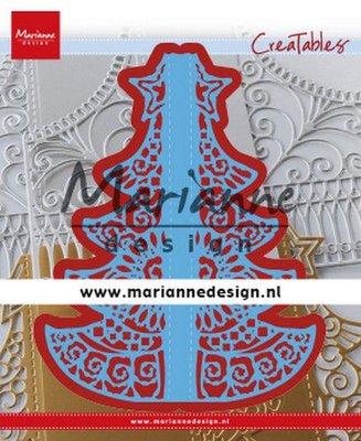 Marianne D Creatable Gate Folding dies - Christmas LR0612 155x190 mm