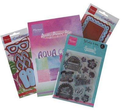 Marianne D Assortiment set Summer Cards (Eng) PA4095