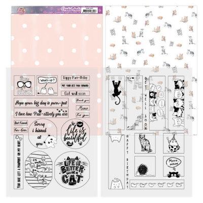 ADMC1005 Mica Sheets - Amy Design - Cats World