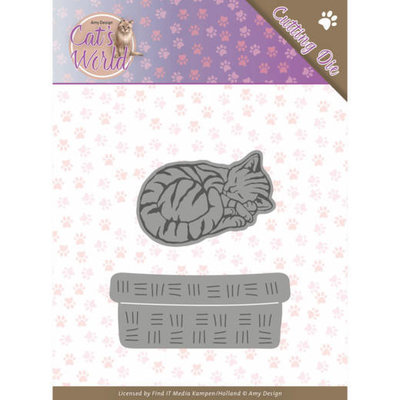 ADD10188 Dies - Amy Design - Cats - Sleeping Cats