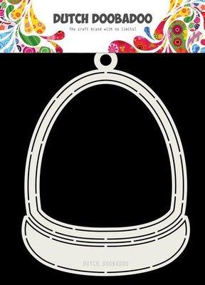 Dutch Doobadoo Card art Sneeuwbol A5 470.713.733 (09-19)