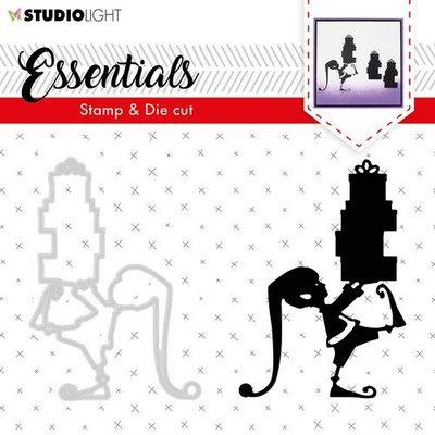 Studio Light Stamp & Die Cut A6 Essentials Silhouettes nr 34 BASICSDC34 (09-19)