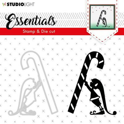 Studio Light Stamp & Die Cut A6 Essentials Silhouettes nr 33 BASICSDC33 (09-19)