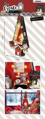 Studio Light MDF Set Create Your Life Christmas nr 58 MDFSL58 (09-19)