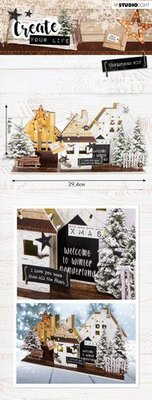 Studio Light MDF Set Create Your Life Christmas nr 55 MDFSL55 (09-19)