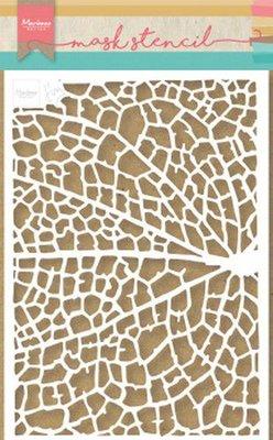 Marianne D Stencil Tiny's Leaf Grain PS8041 149x210 mm (09-19)