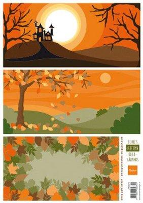 Marianne D Knipvellen Eline's Autumn Backgrounds AK0073 A4 3 (09-19)