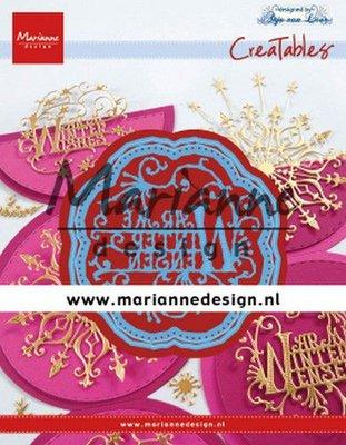 Marianne D Creatable Anja's Warme Winter Wensen (NL) LR0619 70x67,5 mm (09-19)