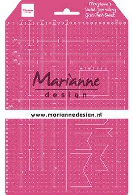 Marianne D Tools Marjoleine's Grid Cheat Sheet LR0030 149x237mm (09-19)