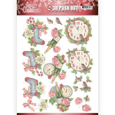 SB10389 3D Pushout - Jeanine's Art - Lovely Christmas - Lovely Christmas Time