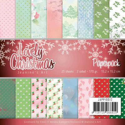 JAPP10012 Paperpack - Jeanine's Art - Lovely Christmas