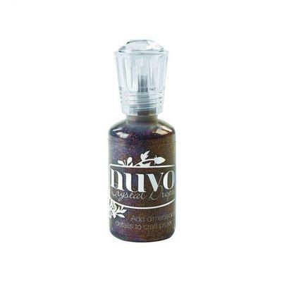 Nuvo glitter drops - chocolate fondue 764N