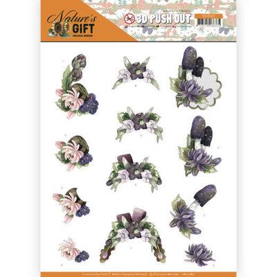 SB10386 3D Pushout - Precious Marieke - Nature's Gift - Purple Gift