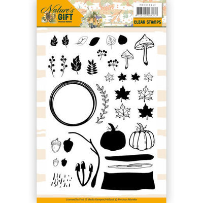 PMCS10042 Clear Stamps - Precious Marieke - Nature's Gift