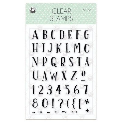 Piatek13 - Clear stamp set We are family 02 P13-FAM-31