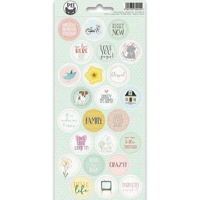 Piatek13 - Sticker sheet We are family 03 P13-FAM-13 10,5x23cm