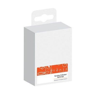 Tonic Studios - Essentials Number 5 shaker blister refil 10 stuks 2835E