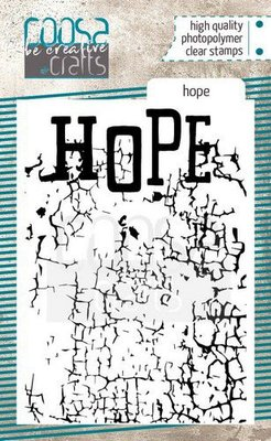 COOSA Crafts clearstamps A7 - Hope COC-094