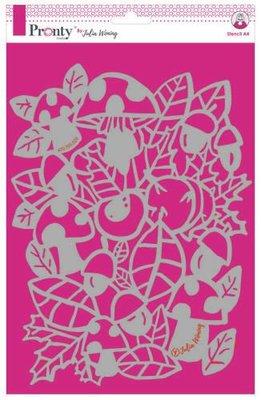 Pronty Stencil Autumn 470.765.020 A4 Julia Woning