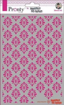 Pronty Mask Barok pattern 1  A5 470.770.019 by Jolanda