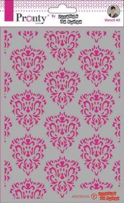 Pronty Mask Barok pattern  A5 470.770.018 by Jolanda
