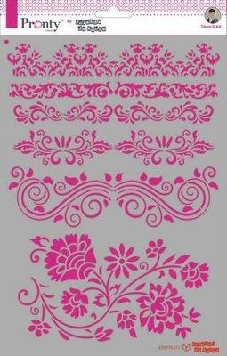Pronty Mask Barok borders  A4 470.770.017 by Jolanda