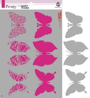 Pronty Mask Butterflies  A4 470.770.016 by Jolanda