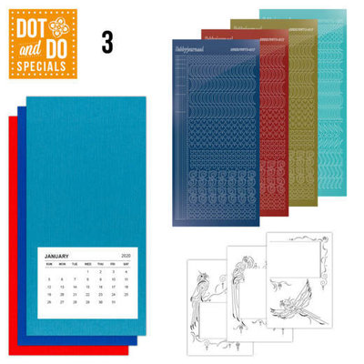 Dot and Do Special 3 papegaai