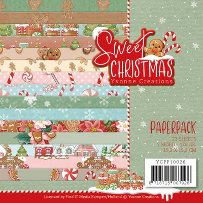 YCPP10026 Paperpack - Yvonne Creations - Sweet Christmas