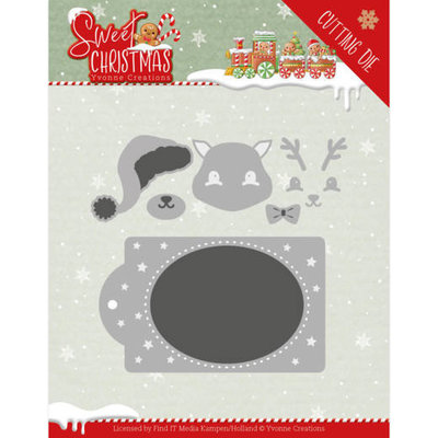 YCD10181 Dies - Yvonne Creations - Sweet Christmas - Sweet Christmas Train