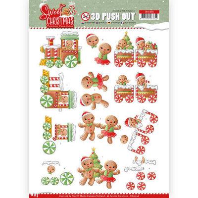 SB10396 3D Pushout - Yvonne Creations - Sweet Christmas - Sweet Cookies