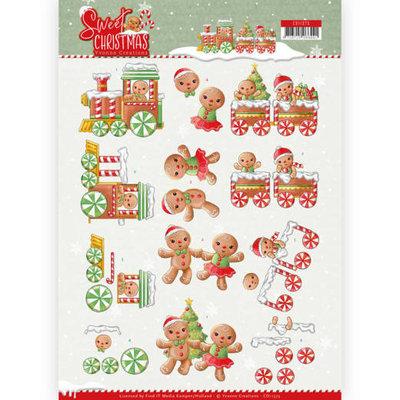 CD11373 3D Knipvel - Yvonne Creations - Sweet Christmas - Sweet Cookies