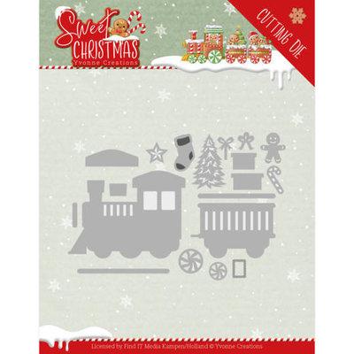 YCD10180 Dies - Yvonne Creations - Sweet Christmas - Sweet Christmas Deer