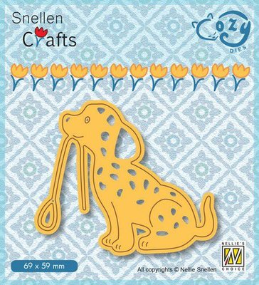 Nellie's Choice Cozy dies Hond SCCOD013 69x59mm
