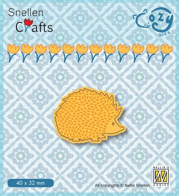 Nellie's Choice Cozy dies Egel SCCOD011 40x32mm
