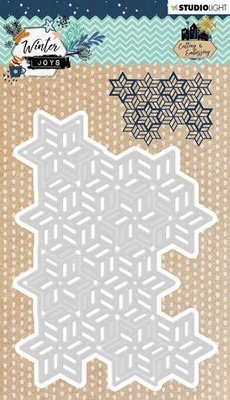 Studio Light Embossing Die Winter Joys nr 231 STENCILWJ231 98x136mm