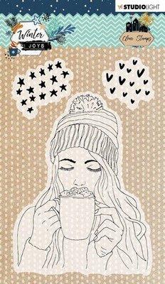 Studio Light Stamp A6 Winter Joys nr 420 STAMPWJ420