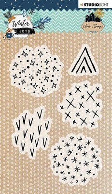 Studio Light Stamp A6 Winter Joys nr 419 STAMPWJ419