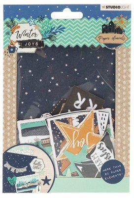 Studio Light Die Cut Paper Set Winter Joys nr 657 EASYWJ657